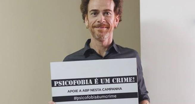 Nando Reis é contra a Psicofobia