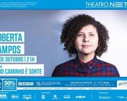 Sorteio: Show de Roberta Campos no RJ, dia 04/10!