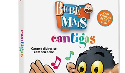 DVD CANTIGAS PARA BEBÊS
